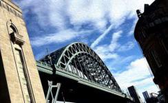 Tyne Bridge - Newcastle and Gateshead - Kittiwakes upon the Tyne
