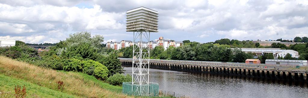 Kittiwake Tower in Gateshead